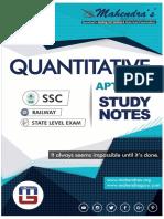 Ssc Study Notes Maths 31-01-19 English