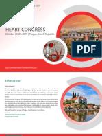 European Heart Congress 2019 New Brochers