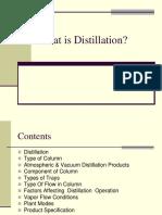 What is Distillation