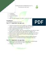 Instrucciones Experimento Nc2ba 4 y Consideraciones Para El Docente