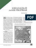 Giá Trị Lịch Sử Của Bản Đồ Sinae Propriae - Phạm Hoàng Quân