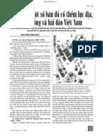 Giới Thiệu Một Số Bản Đồ Cổ Thềm Lục Địa Biển Đông Và Hải Đảo Việt Nam - Nguyễn Đình Đầu