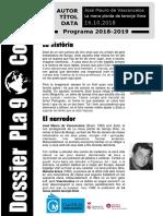 Dossier Pla 9 - Codi 63