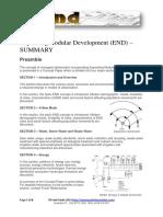 Expanding Nodular Development (END) Sustainable Urbanisation
