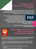 Situs Lembaga Pers Mahasiswa Universitas Asahan