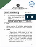 National Budget Circular No. 563 - April 22, 2016