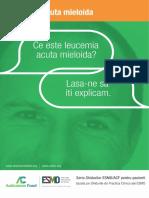 ESMO ACF Leucemia Acuta Mieloida Ghid Pentru Pacienti 1