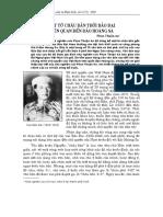 Một Tờ Châu Bản Thời Bảo Đại Liên Quan Đến Đảo Hoàng Sa - Phan Thuận An
