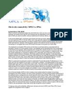 Mpls vs IPSec VPNs