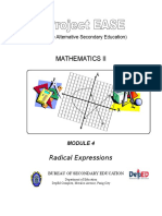 Module 4 - Radical Expressions.doc