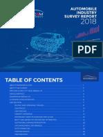 PakWheels Automobile Industry Survey 2018