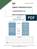 2019 - Laboratorio-02-DCS-Redes Ethernet TCPIP - Direccionamiento IP