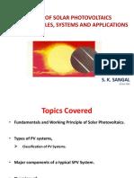 Basics of PV