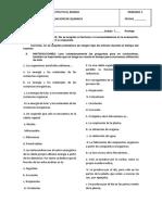Evaluación Septimo i Biologia