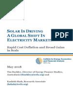 IEEFA Global Solar Report May 2018