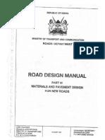 Part III - Materials & Pavement Design