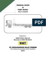 Manual Book & Part Book fm260