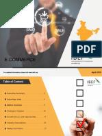 e Commerce Report April 2019