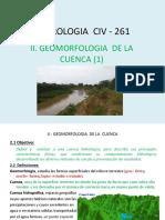 Geomorfologia de La Cuenca 1 2016-1