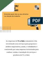 Manual Instalador de Tv a Cabo