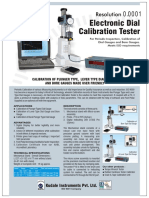 dial calibration tester