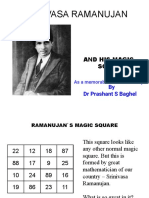 Ramanujan's Magic Square