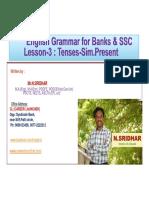 Class 2- Parts of Speech
