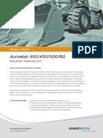 Voestalpine Heavy Plate Datasheet Durostat en 20170904
