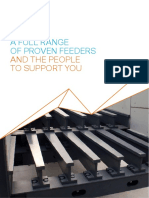 A FULL RANGE OF PROVEN FEEDERS AND THE PEOPLE TO SUPPORT YOU