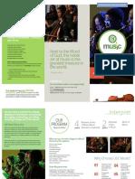 USC Music Brochure 2018