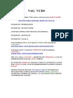 Ativando recursos Jetta Via VCDS