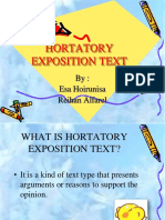 hortatory_exposition_text.ppt