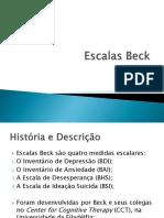 Apresentação Escalas de Beck
