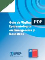 Guía de Vigilancia Epidemiológica en Emergencias y Desastres