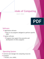 Lecture 5 - Software