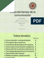 LINEA DEL TIEMPO DE LA COMUNICACIÓN