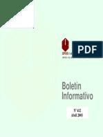 Boletin Informativo Abril 2003
