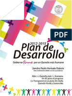 Plan de Desarrollo 2012-2015 Final