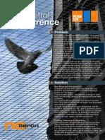 Peter Cox - No Perch Bird Control