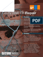 Peter Cox -  Securewall Cavity Wall