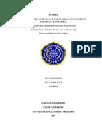 105189015 Spesifikasi Teknis Bangunan Ge