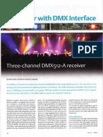 100303 Mezclador LED Con Interface DMX