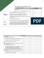 Pauta de Evaluación de La Planificación de Clases