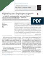 Assessment of Half Mask Elastomeric Respirator and Pow 2017 American Journal