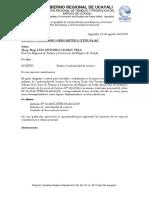 OFICIO N° 10-2018-ZTPEPA - REMITO CONFORMIDAD DE SERVICIO