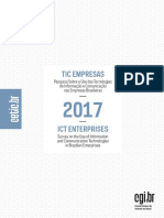 Pesquisa Sobre o Uso Das TIs e Comunicação Nas Empresas Brasileiras 2017