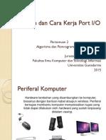2. Konsep Dan Cara Kerja Port IO