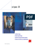 4 Pasos Proteccion Respiratoria.3M