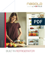 Built in Refrigerator Leaflet