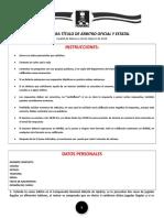 Examen Arbitro Oficial